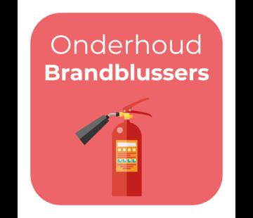 Onderhoud - Brandblussers
