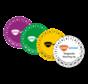 Keuringssticker met logo / tekst