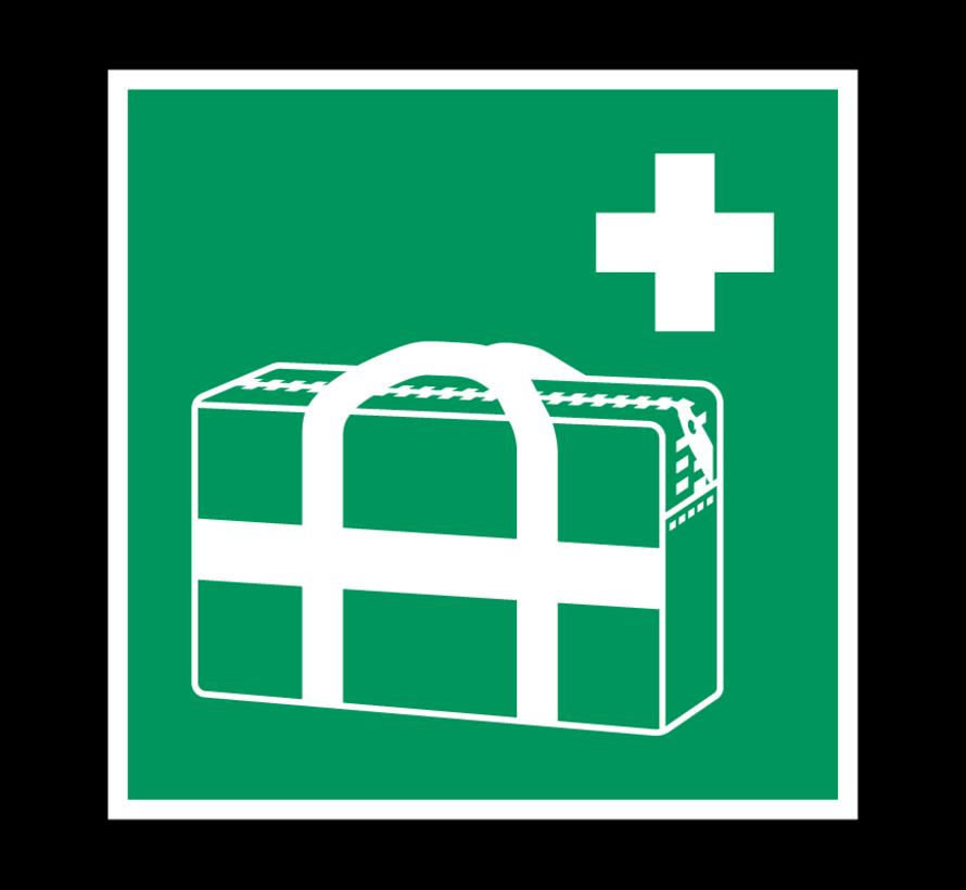 Medische noodtas pictogram