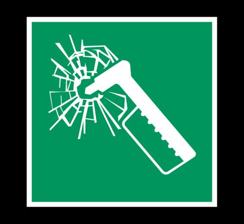 ARBO centrum Noodhamer pictogram