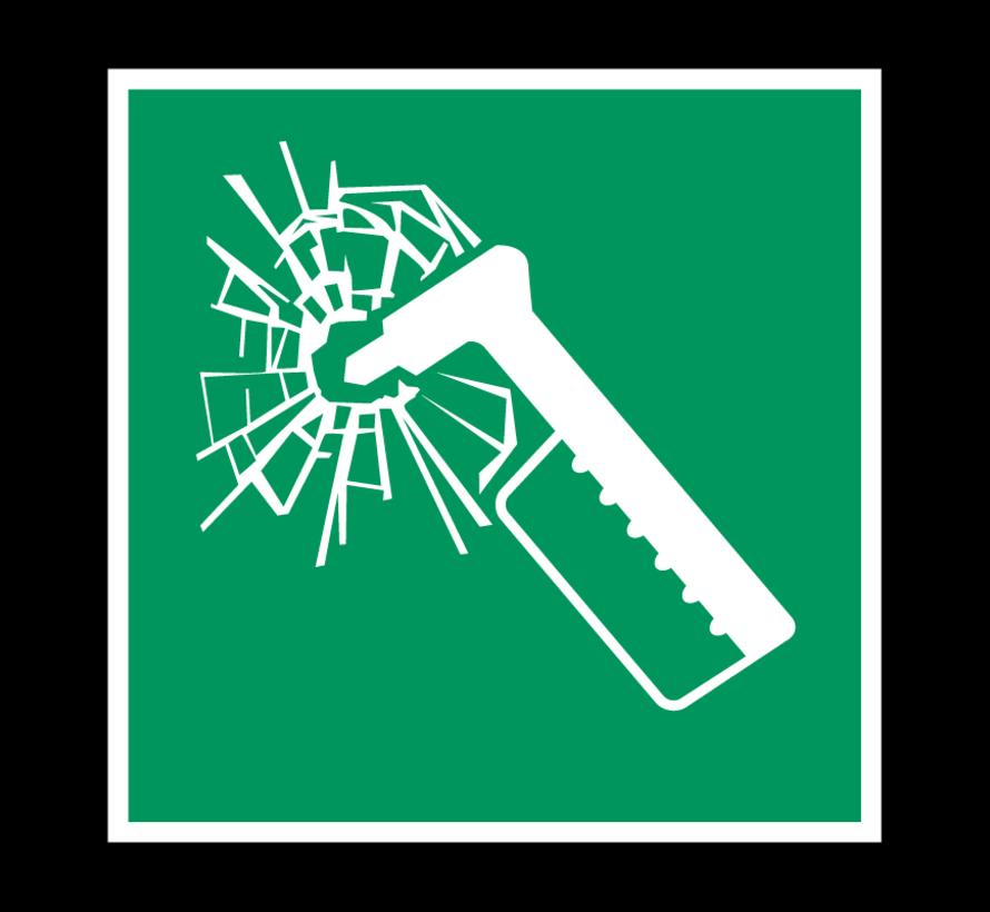 Noodhamer pictogram