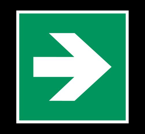 ARBO centrum Richtingaanwijzing pictogram