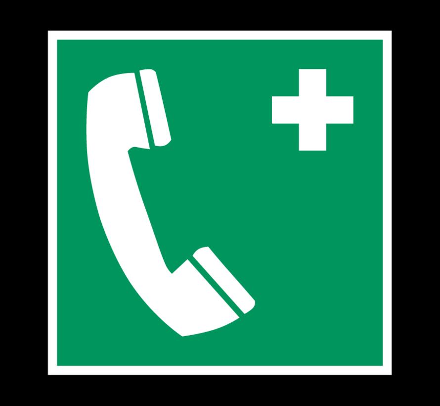 Telefoon voor noodgevallen pictogram