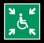 ARBO centrum Invalide verzamelplaats
