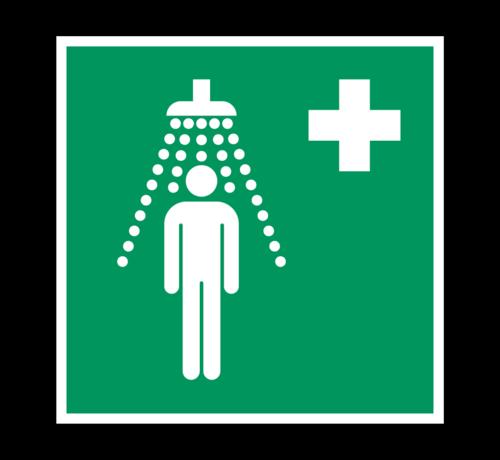 ARBO centrum Veiligheidsdouche pictogram
