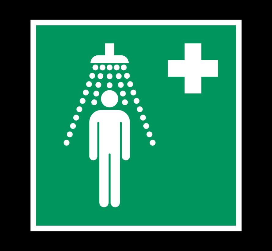 Veiligheidsdouche pictogram