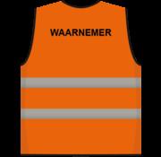 ARBOwinkel.nl Waarnemer hesje oranje