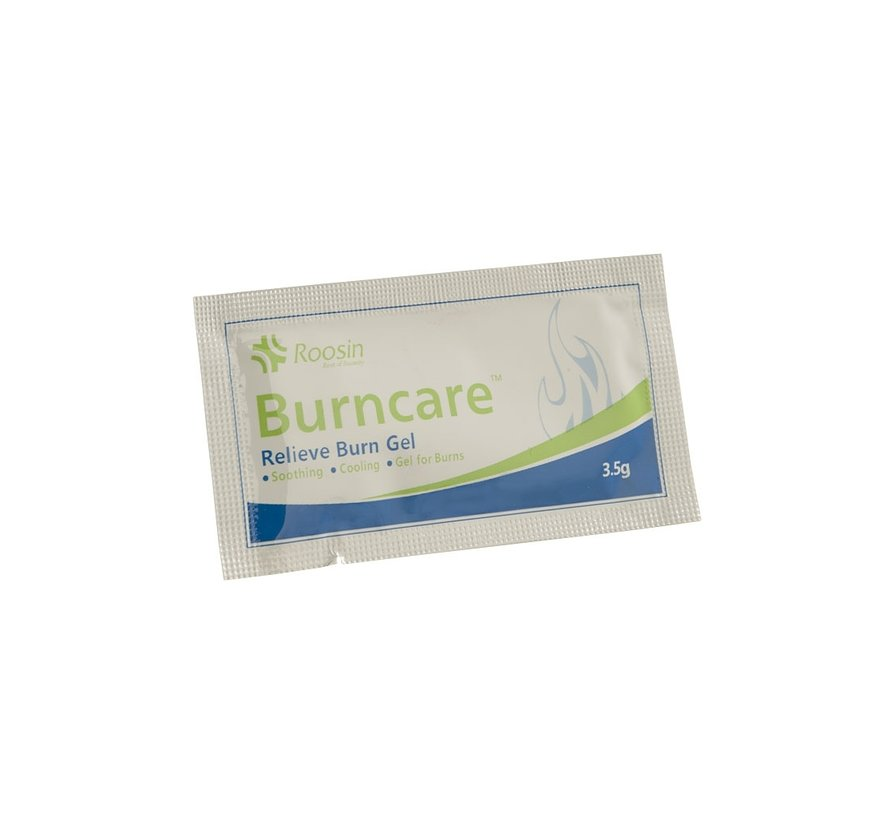 Burncare gel in sachet