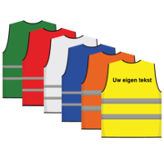 ARBO centrum Veiligheidshesje kinderen met tekst / logo