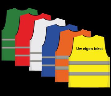 Veiligheidshesje kinderen met tekst / logo