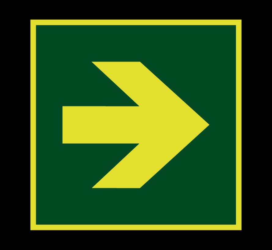 Richtingaanwijzing lichtgevend pictogram