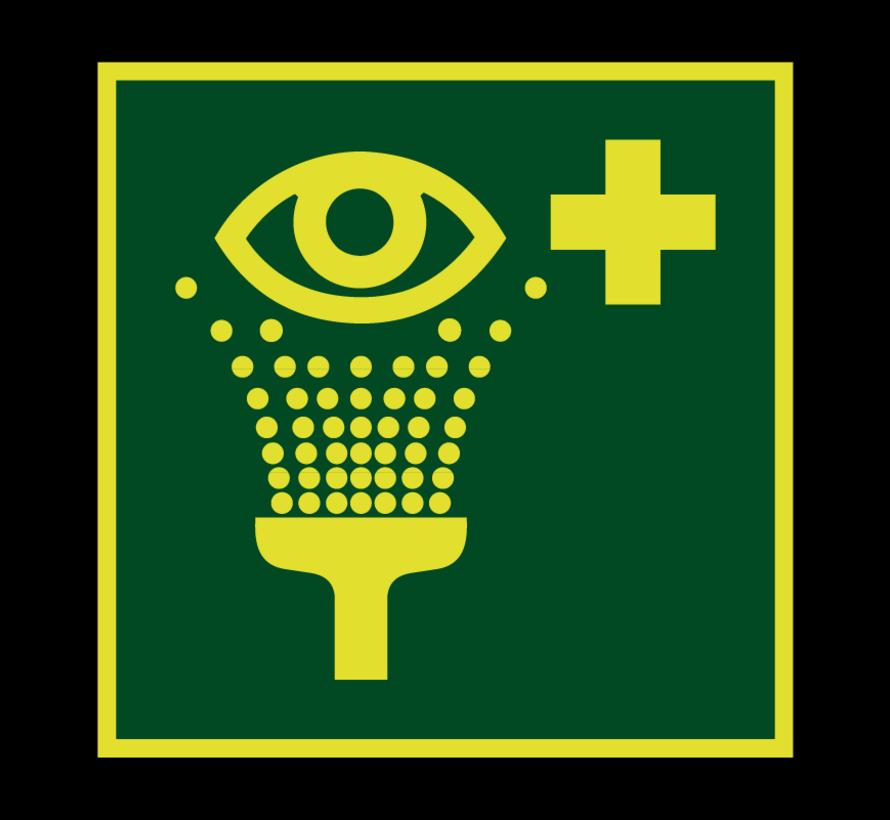 Oogdouche lichtgevend pictogram