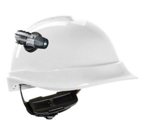 MSA Veiligheidshelm / bouwhelm met lamp
