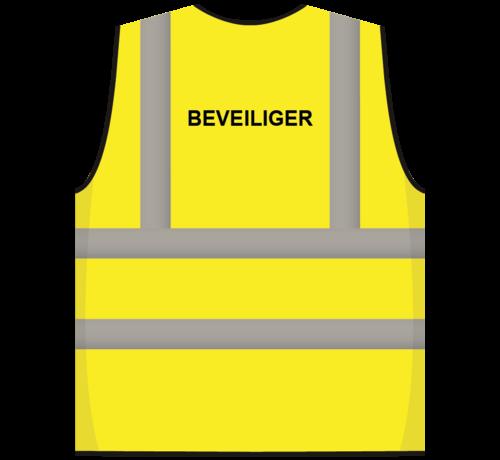 ARBO centrum RWS veiligheidsvest beveiliger geel