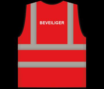 ARBO centrum RWS veiligheidsvest beveiliger rood