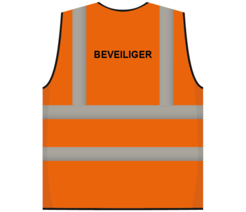 ARBO centrum RWS veiligheidsvest beveiliger oranje
