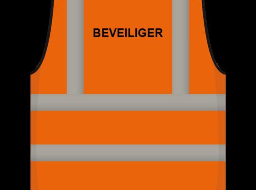 ARBOwinkel.nl RWS veiligheidsvest beveiliger oranje