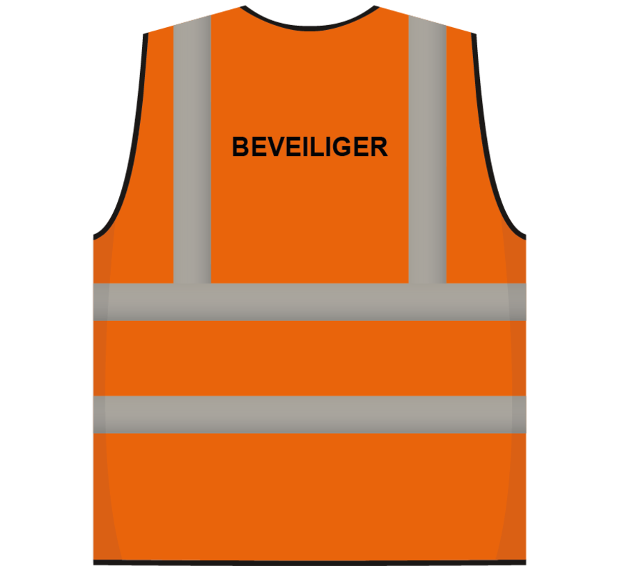 RWS veiligheidsvest beveiliger oranje