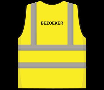 RWS veiligheidsvest bezoeker geel
