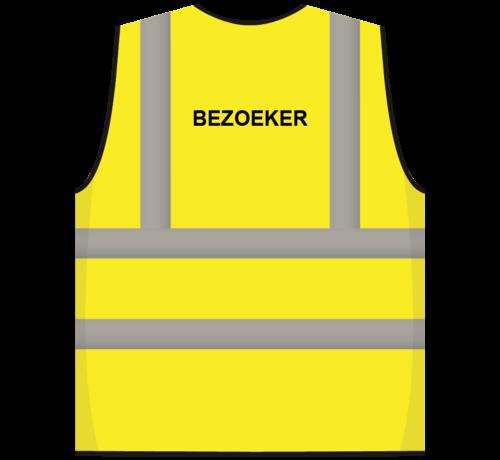 ARBO centrum RWS veiligheidsvest bezoeker geel