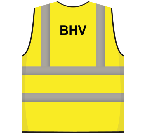ARBO centrum RWS veiligheidsvest BHV geel