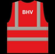 ARBO centrum RWS veiligheidsvest BHV rood