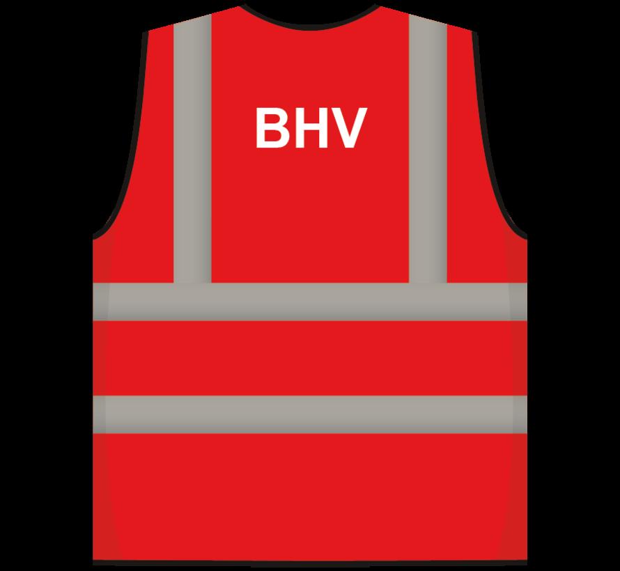 RWS veiligheidsvest BHV rood