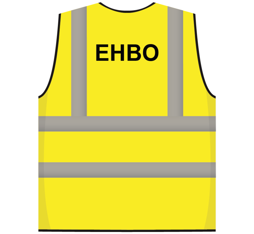 RWS veiligheidsvest EHBO geel