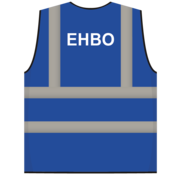 ARBO centrum RWS veiligheidsvest EHBO blauw