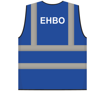 RWS veiligheidsvest EHBO blauw
