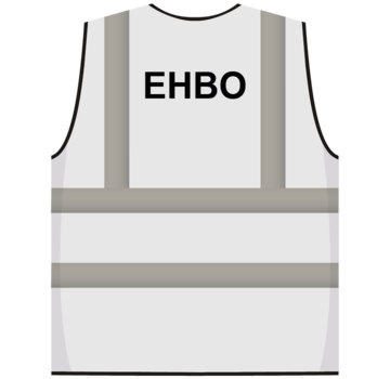 ARBO centrum RWS veiligheidsvest EHBO wit