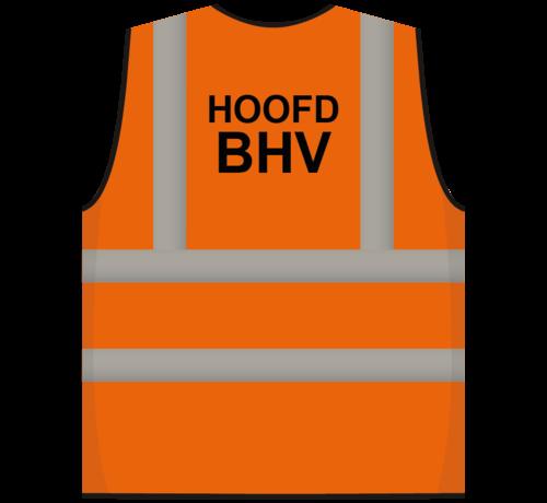 ARBO centrum RWS veiligheidsvest hoofd BHV oranje