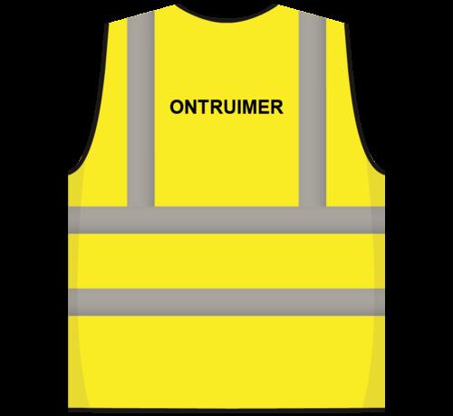 ARBO centrum RWS veiligheidsvest ontruimer geel