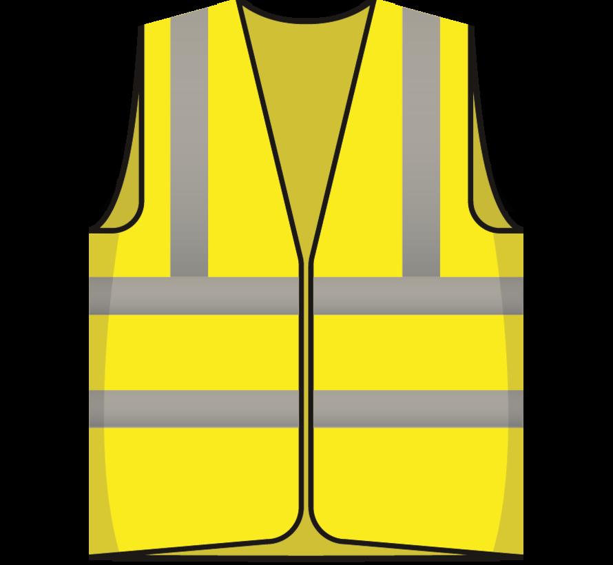 RWS veiligheidsvest ontruimer geel