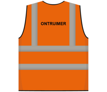 RWS veiligheidsvest ontruimer oranje