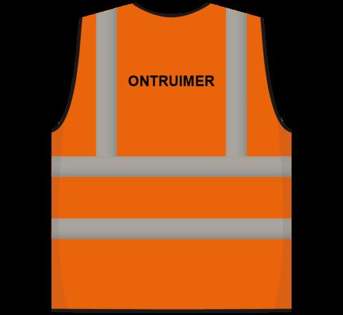ARBO centrum RWS veiligheidsvest ontruimer oranje