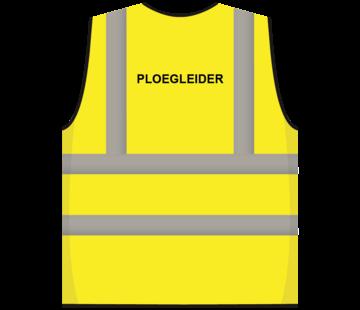 RWS veiligheidsvest ploegleider geel