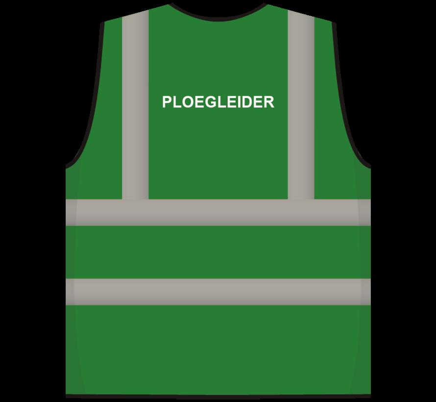 RWS veiligheidsvest ploegleider groen