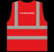 RWS veiligheidsvest ploegleider rood