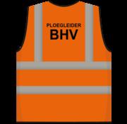ARBO centrum RWS veiligheidsvest ploegleider BHV oranje