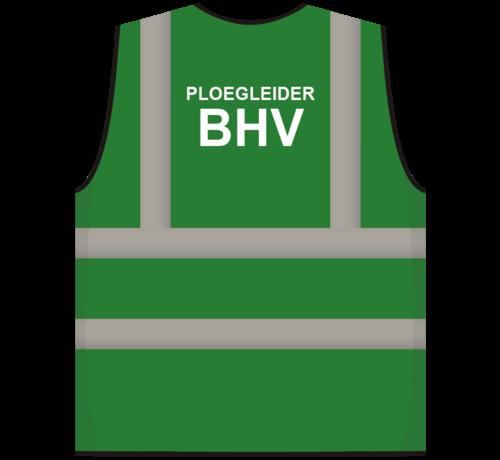 ARBO centrum RWS veiligheidsvest ploegleider BHV groen