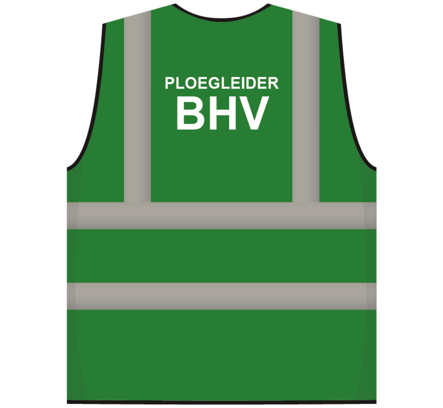 RWS veiligheidsvest ploegleider BHV groen