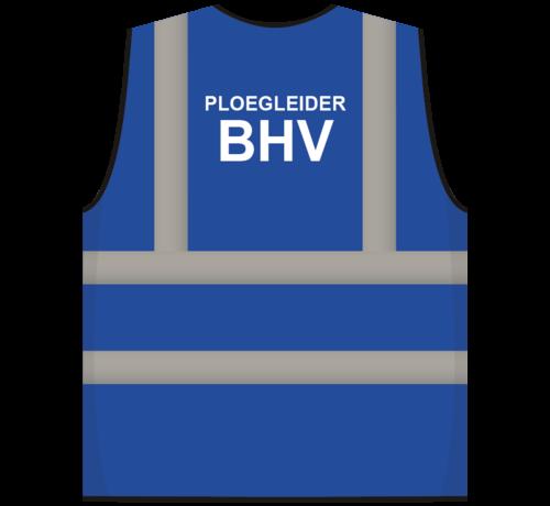 ARBO centrum RWS veiligheidsvest ploegleider BHV blauw