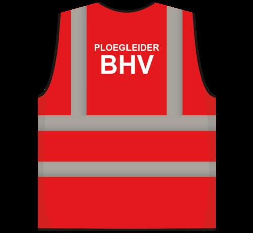 ARBO centrum RWS veiligheidsvest ploegleider BHV rood