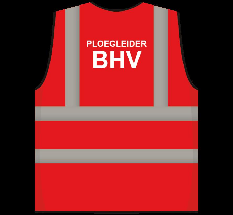 RWS veiligheidsvest ploegleider BHV rood