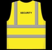 ARBO centrum RWS veiligheidsvest security geel