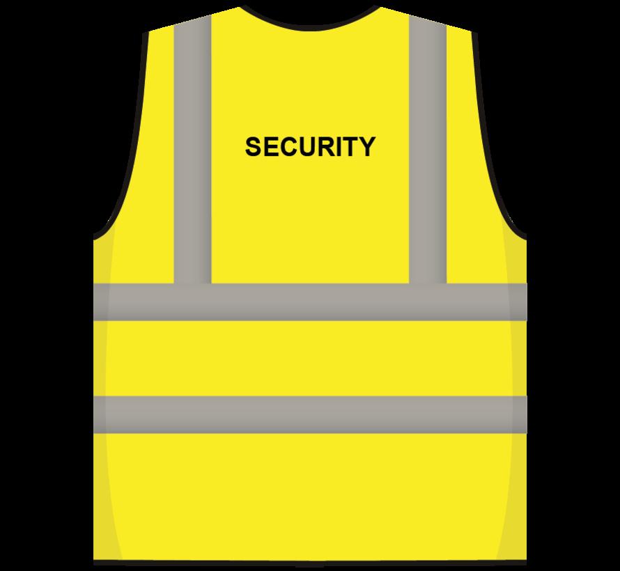 RWS veiligheidsvest security geel