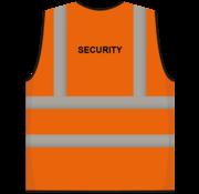 RWS veiligheidsvest security oranje