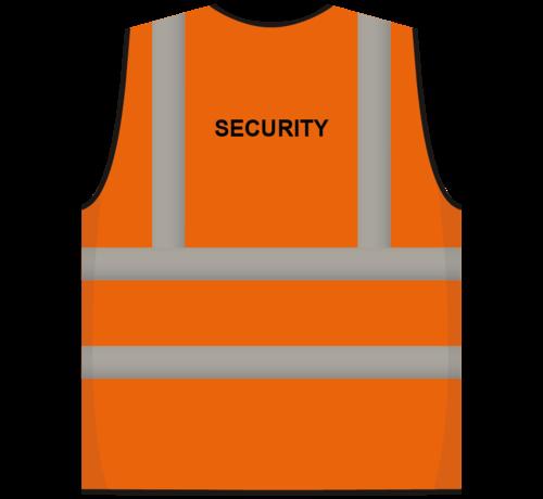 ARBO centrum RWS veiligheidsvest security oranje