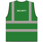 ARBO centrum RWS veiligheidsvest security groen